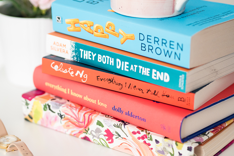 Best Books to Read in 2018 | Colours and Carousels - Scottish Lifestyle, Beauty and Fashion blog