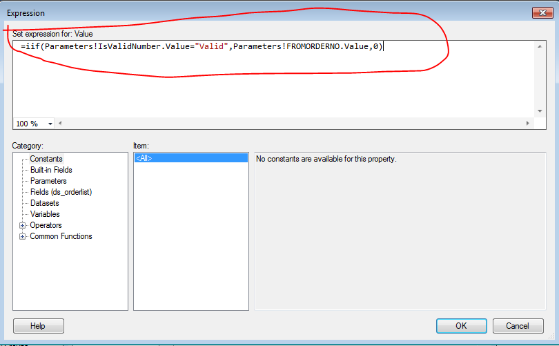 Numeric Field Validation in SSRS Parameter Part-2 |  Net C#