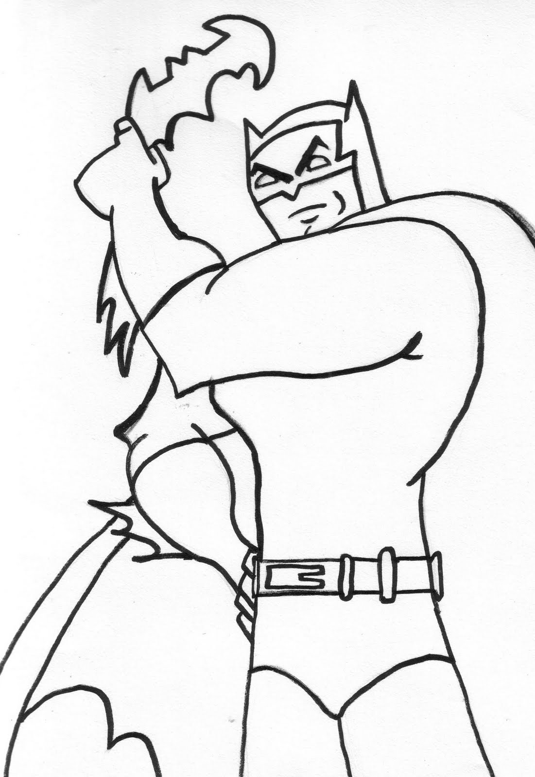 Scarecrow's Coloring Pages: Batman Coloring Pages