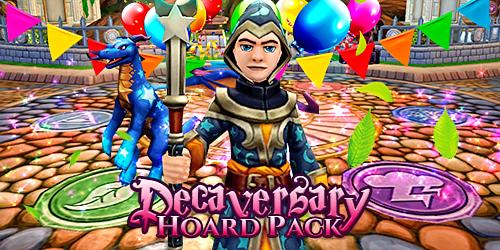 Frostcaller: Wizard101 Decaversary Hoard Pack