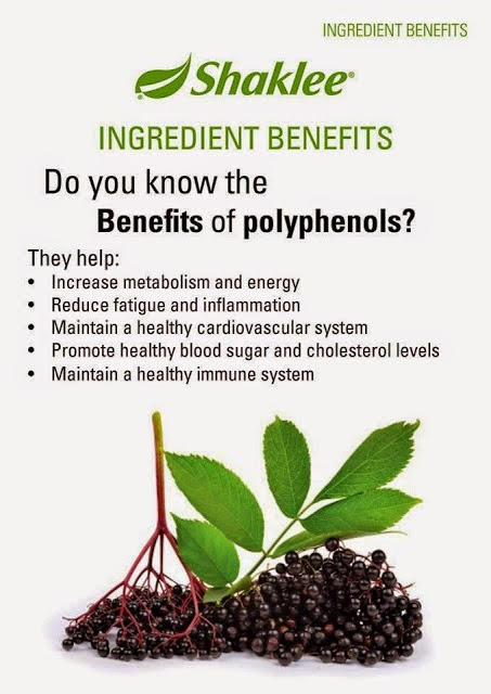 Polifenol di dalam Shaklee membantu melambatkan penuaan