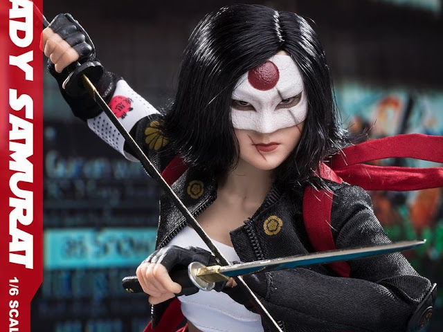 Lady Samurai Collectible Figure - Katana from Suicide Squad