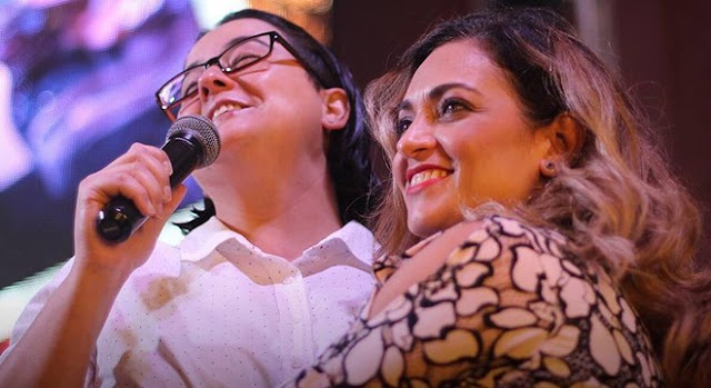 Lanna Holder e Rosania Rocha