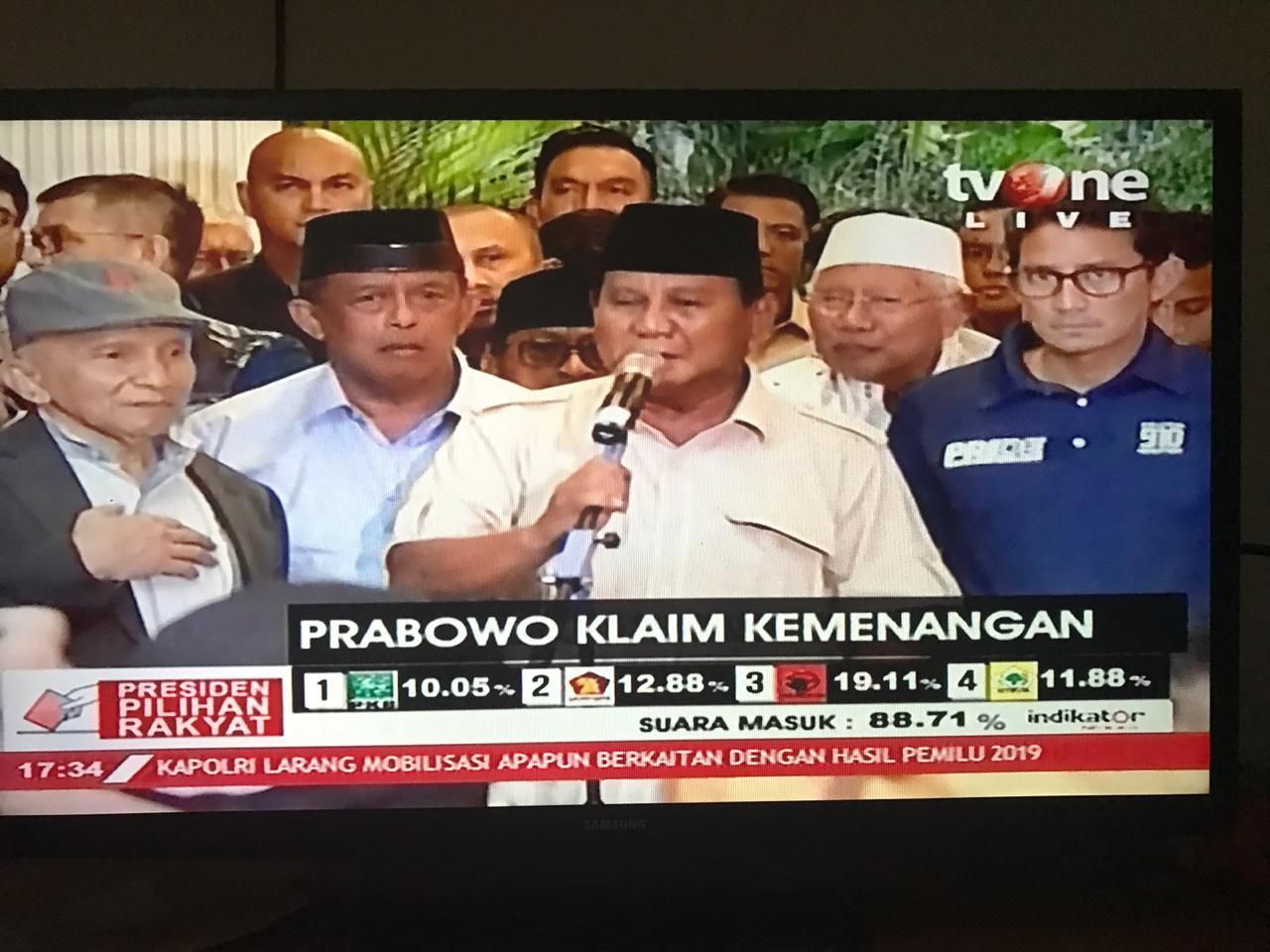Bukan Hura-Hura, Ini Ajakan Prabowo kepada Rakyat Indonesia