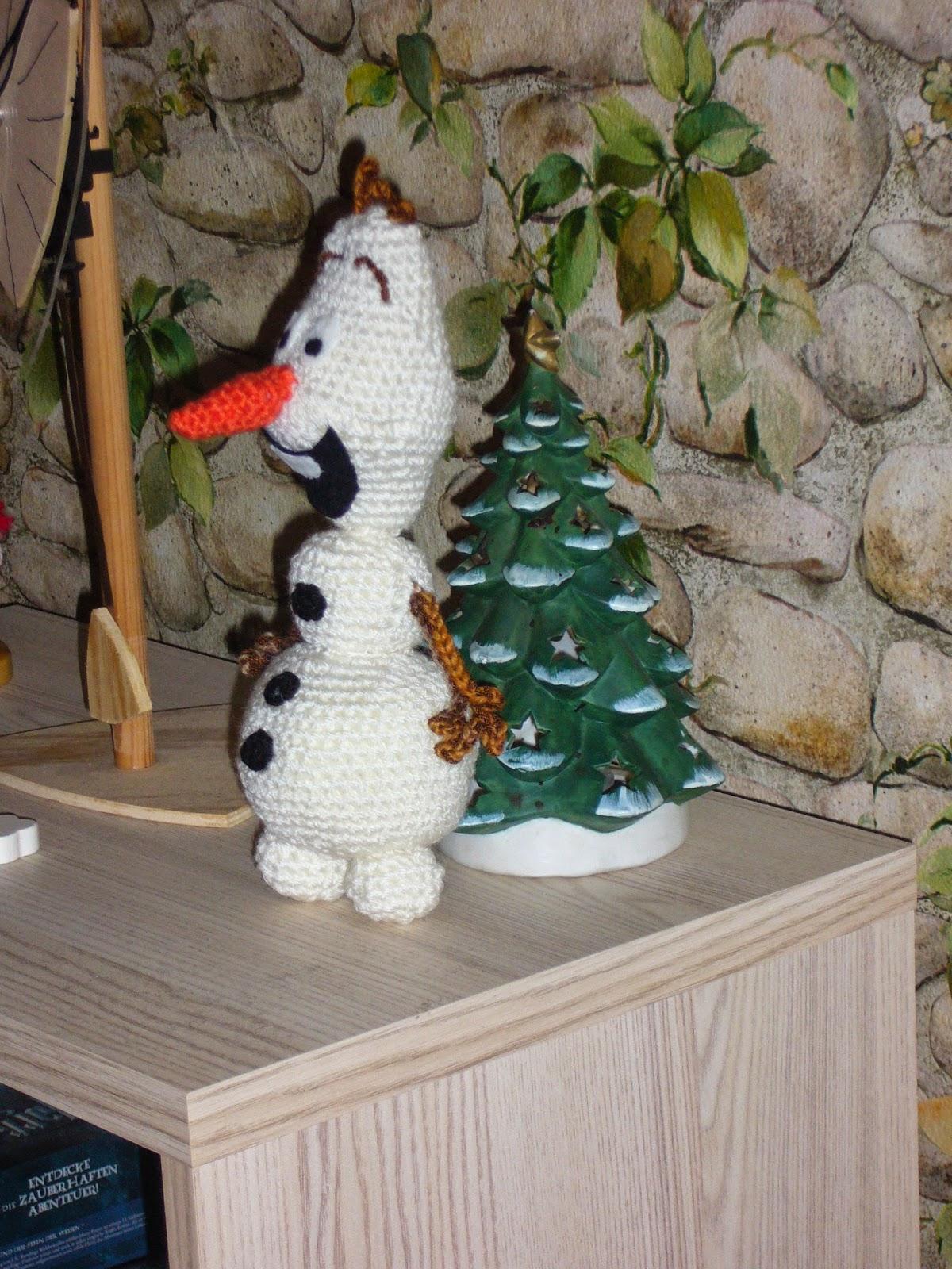Olaf Der Schneemann Gehäkelt