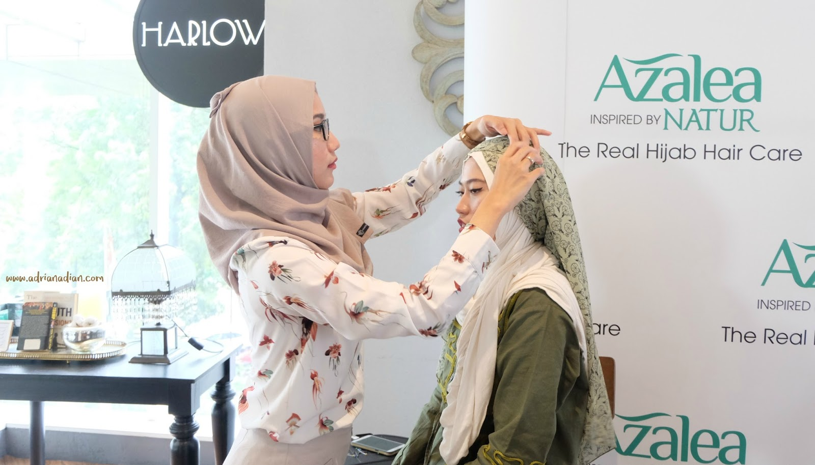 Azalea Hijab Hair Care