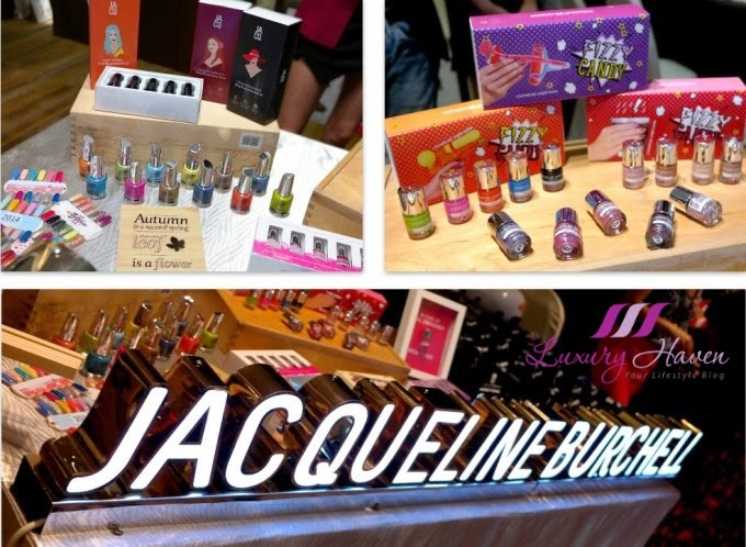 bellabox backstage beauty blogger event jacqueline burchell nails