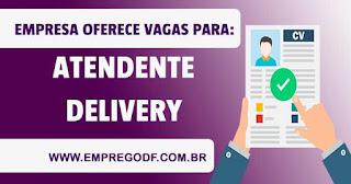 Atendente de delivery