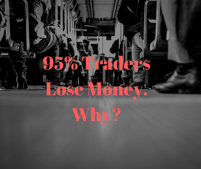 95 traders lose money