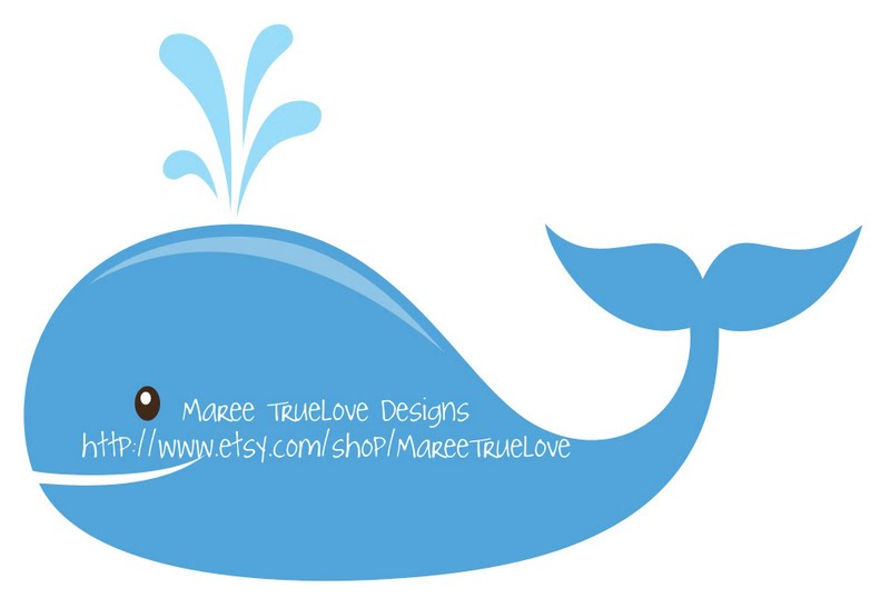 baby shower whale clipart - photo #15