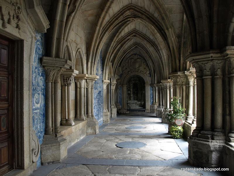 Porto - Krużganki katedry