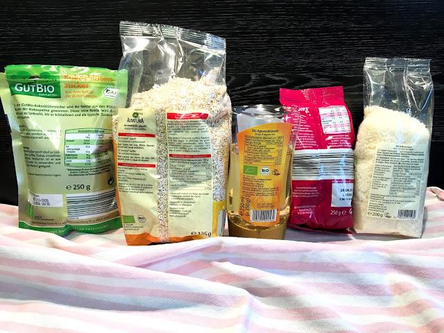 Naehrwertangaben auf Lebensmittelverpackungen