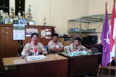 Rapat Pembentukan Satgas Pramuka Peduli Kwarcab Tanah Karo