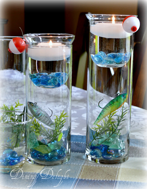 Dining Delight Fishing Tablescape For Father S Day