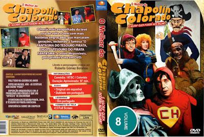 Série O Melhor do Chapolin Colorado Volume 8 DVD Capa