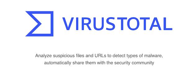 VirusTotal Online APK Scanner