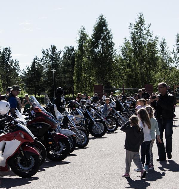 moottoripyörätapahtuma kesä