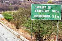 Resultado de imagem para estrada de santana de mangueira