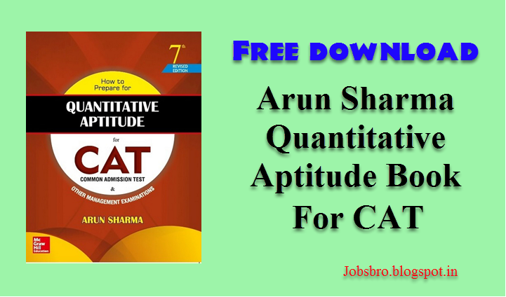 Arun sharma quantitative aptitude pdf free download.