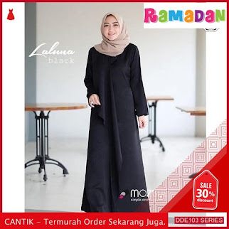 DDE103R43 Rx Fashion Dress Sabrina Lebaran Tensa 2019 Bahan BMGShop
