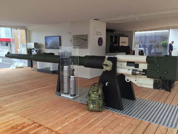 Rheinmetall випробовує 130-мм гармату – вбивцю Армат