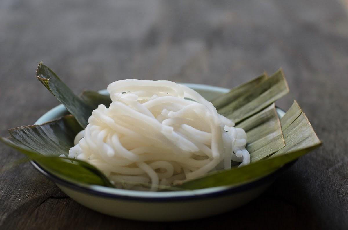 rice flour laksa noodle image