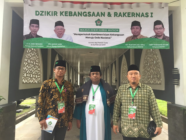 Ikuti Rakernas I, Rajafi Nahkodai Majelis Dzikir Hubbul Wathon Sulut