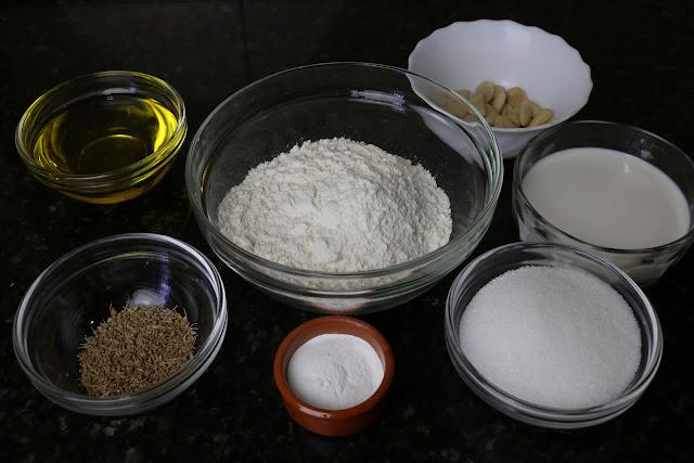 Ingredientes para torta de Vélez