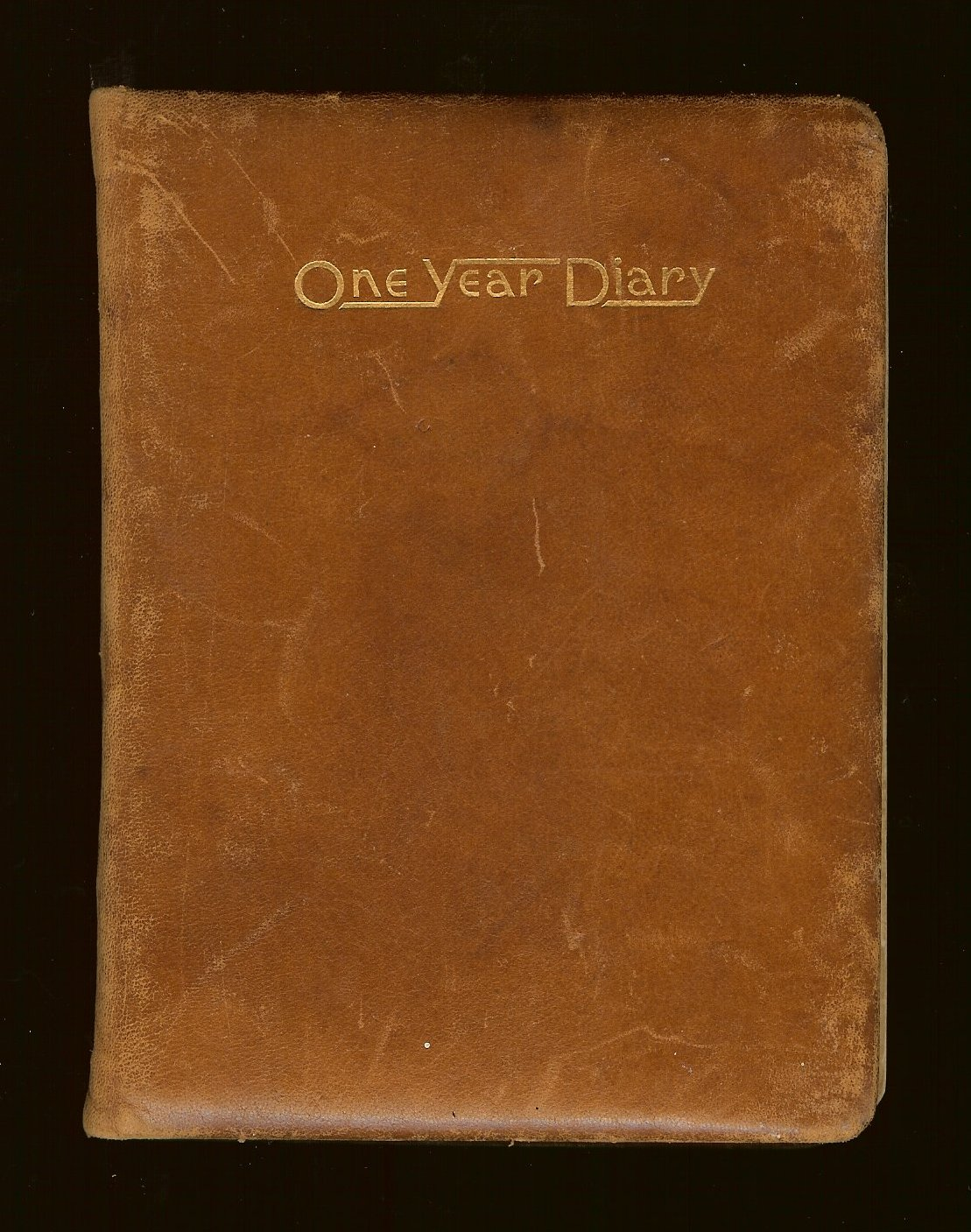 The Poet Fisherman Daddys War Diary Cover Page And