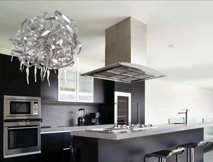 L mparas colgantes para la cocina a gusto de todos cocinas con estilo - Iluminacion para cocinas modernas ...