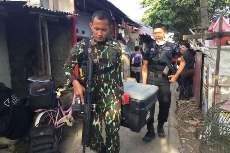 Polisi : Lima Terduga Teroris Antapani Akan Ledakkan Istana Negara Agustus Ini