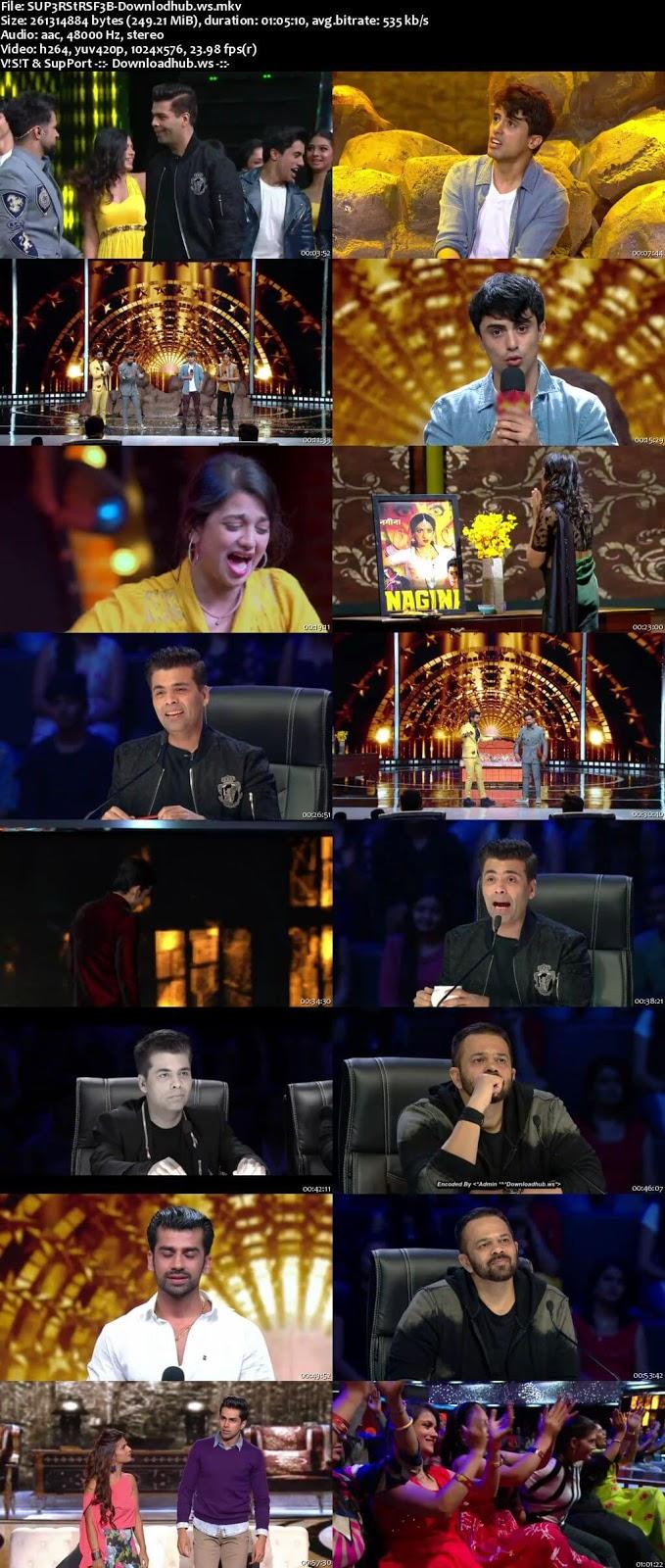 India's Next Superstars 03 February 2018 Episode 07 HDTV 480p