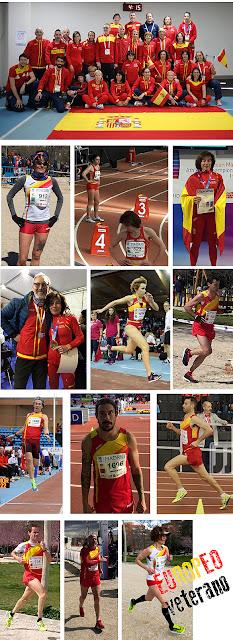 Campeonato Europa Atletismo Master Madrid