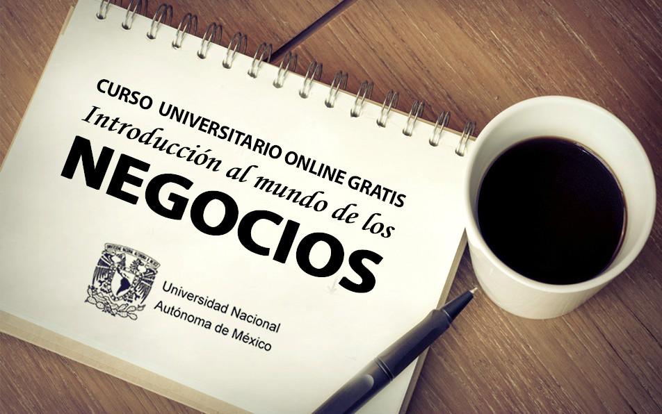 Curso online gratis de negocios dictado por la unam for Curso de interiorismo online gratis