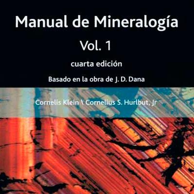 Manual de mineralogia vol 1 - Mineralogia
