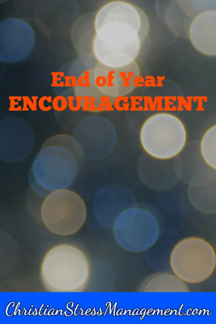 End of year encouragement