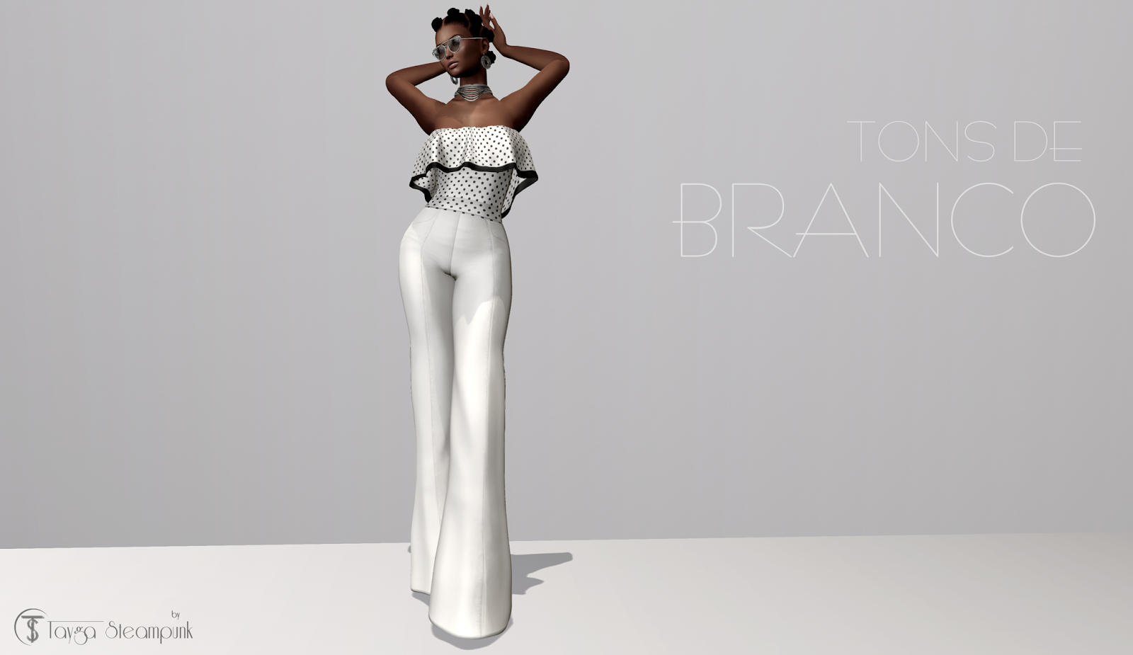 TS# 264 Tons de Branco