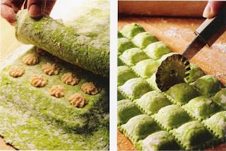 Thermomix cocina: Ravioli con ricotta y jamón