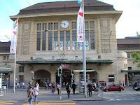 Estación de Lausana, Suiza, Station Lausanne, Switzerland, La gare de Lausanne, Suisse, vuelta al mundo, round the world, La vuelta al mundo de Asun y Ricardo