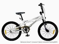 Sepeda BMX Wimcycle Metalizer 20 Inci