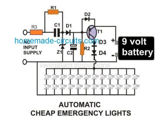 emergency led lights powerful amp cheap circuit led716 led
