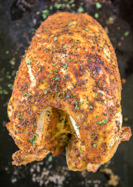 Slow Cooker Turkey Breast recipe - seriously delicious! Just season the turkey breast and throw it in the slow cooker. Ready to eat in about 5 hours. We LOVE this fuss-free turkey!!! Great for Thanksgiving and Christmas or just when you have a craving for a good turkey sandwich!! #turkey #thanksgiving #christmas #thanksgivingrecipes #christmasrecipes #turkeyrecipes