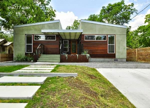 Casa residencial prefabricada estilo Contemporáneo