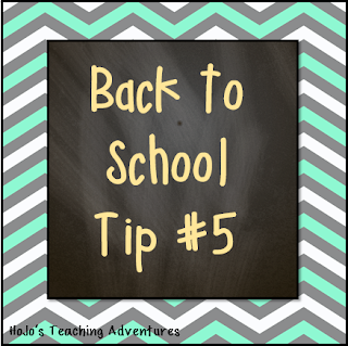 Back to School Tip #4