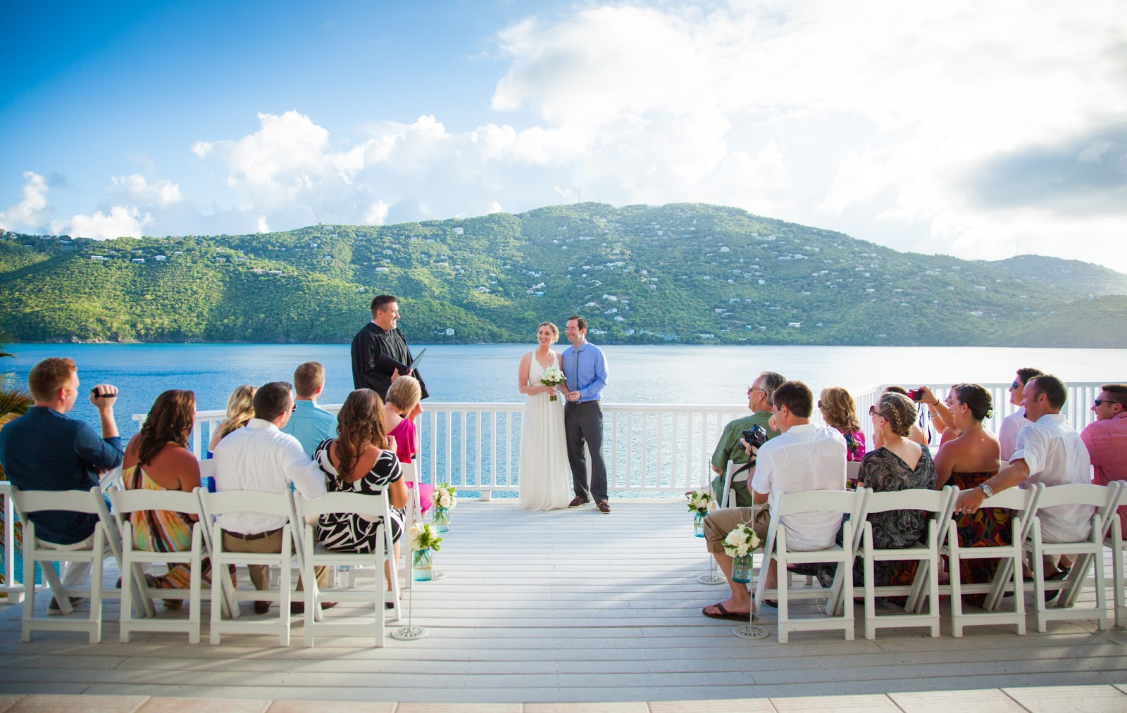 A Late Thank You Is Always The Best Island Bliss Weddings Beach Wedding In St Thomas