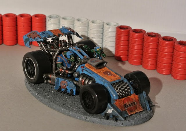 What's On Your Table: Shokkjump Dragsta Slot Car
