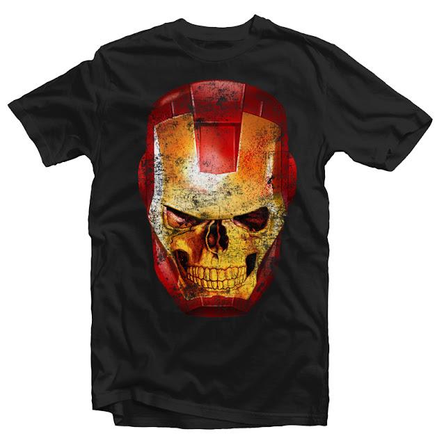 iron man dtg design