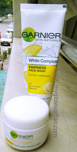 Garnier Skin Naturals White Complete Multi Action Fairness Cream and Face Wash - Review