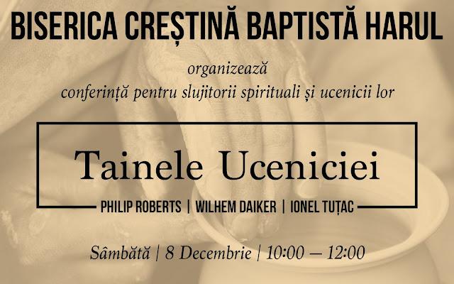 Conferință pentru slujitori şi ucenicii lor la Biserica Harul Lugoj