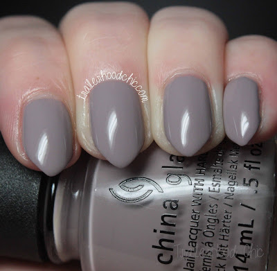 china glaze rebel swatches review dope taupe